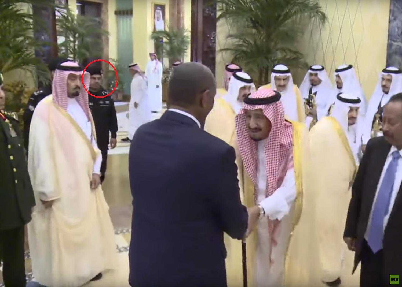 الحارس الشخصي لسلمان بن عبدالعزيز، الحارس الملكي السعودي، عبدالعزيز الفغم