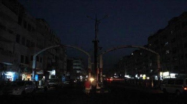 مدينة عدن ليلا